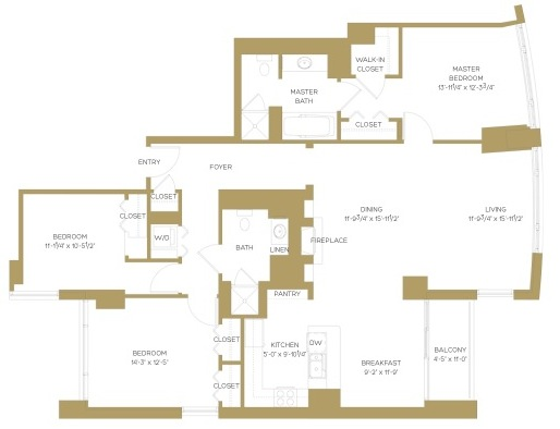 Assisted Living Facility Floor Plans: Floor Plans At The Clare In Chicago